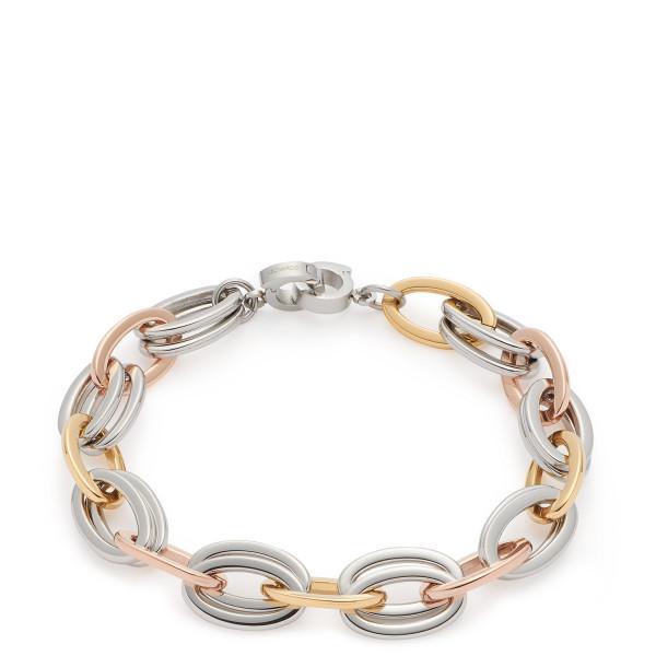 Damen-Armband, LEONARDO CLIP & MIX gold silber rosegold Valesco