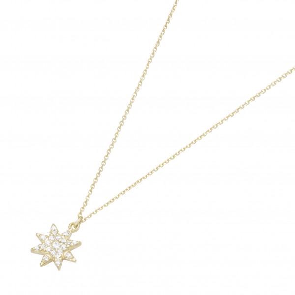 Damenhalskette Halskette 375 Gelbgold by Da-lino 99037540450