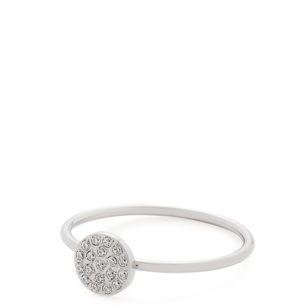 Damen-Ring, CIAO! BY LEONARDO Edelstahl Zirkonia-Steinchen 20/6/22mm Becca