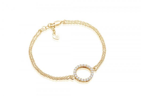 Sif Jakobs Damenarmband Armband Biella Grande - mit weißen Zirkonia SJ-B338