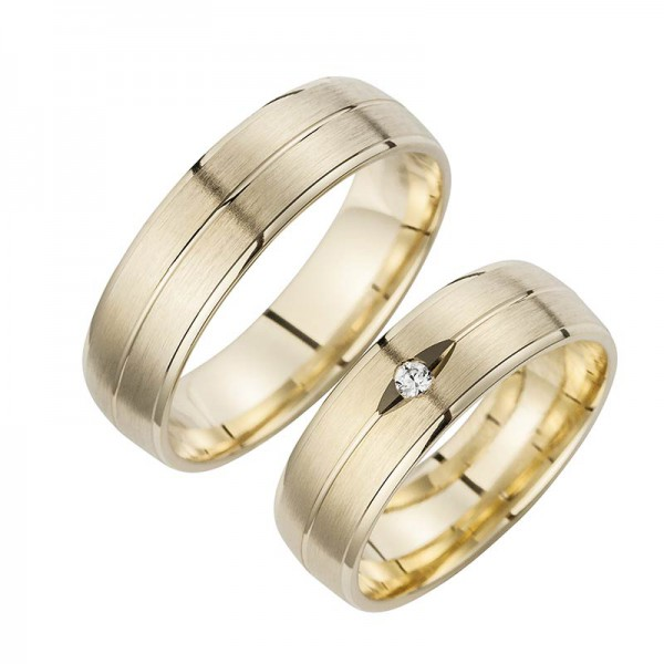Trauringe Gelbgold Cilor Perfect Love Kollektion HR 91A