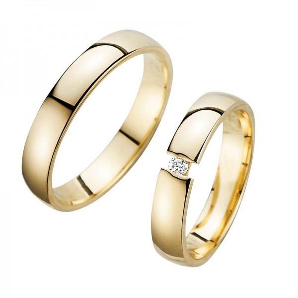 Trauringe Eheringe Gelbgold Cilor Perfect Love Kollektion HR 200A
