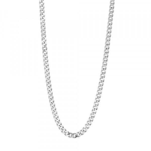 Rhd. Silber Halskette PANZER 3mm
