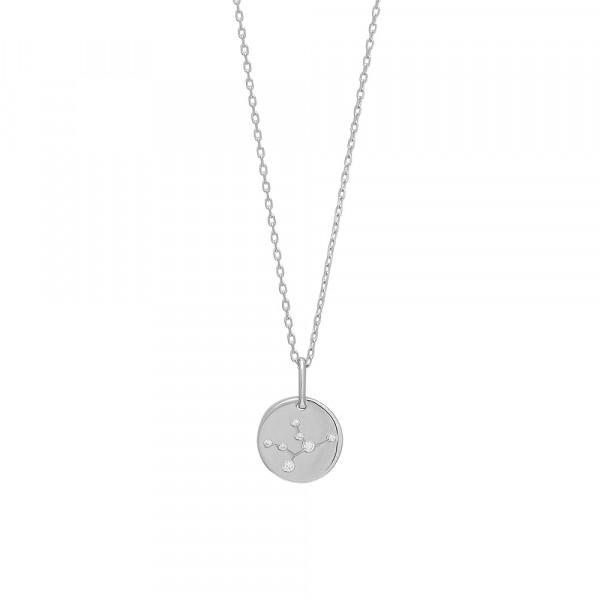 Joanli Nor Halskette mit Sternzeichen Anhänger ESTELNOR Jungfrau