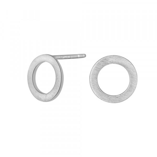 Damenohrstecker Circle Ohrringe 9mm