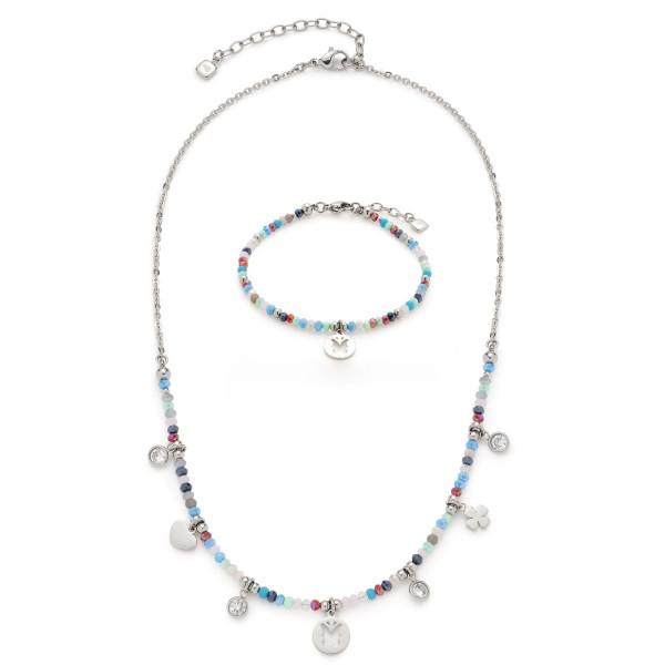 LEONARDO CIAO Schmuckset Halskette und Armband