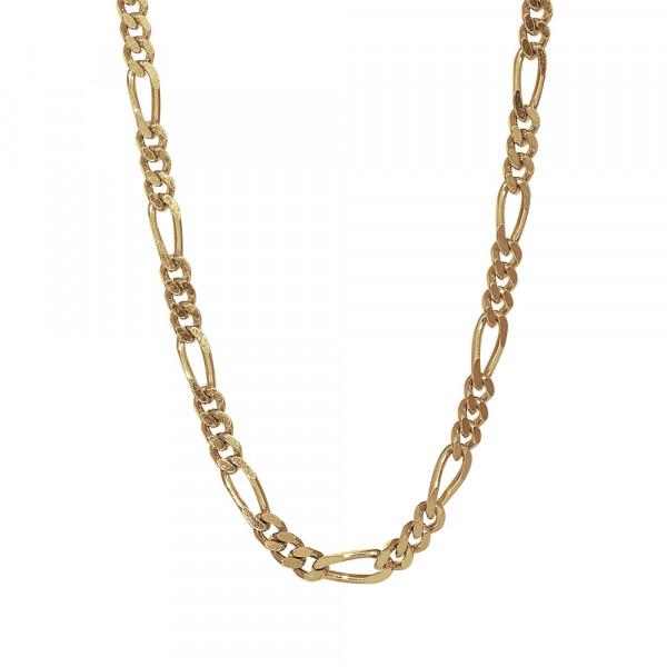 Vergoldet Halskette FIGARO 3mm