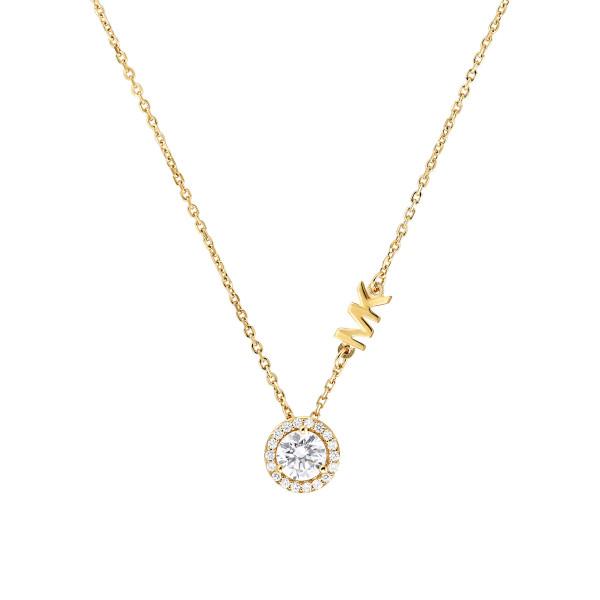 Michael Kors Damen Halskette vergoldet mit Anhänger
