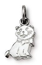 Anhänger Katze 925 Silber