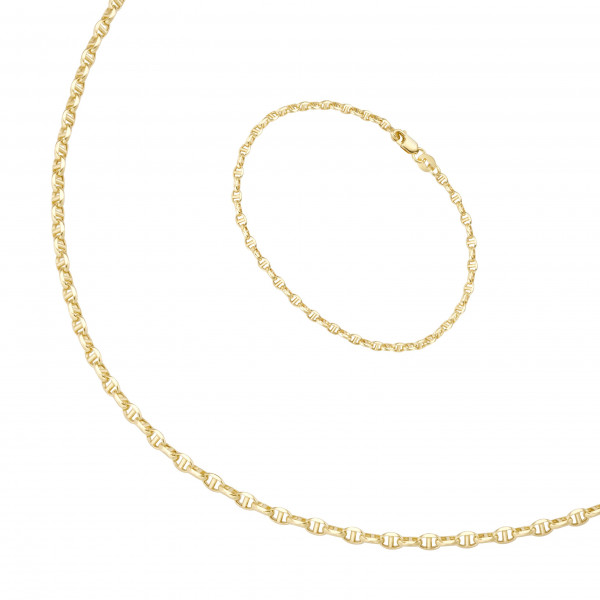 Schmuckset Da-lino 585 Gelbgold 99040850450, 92016350190