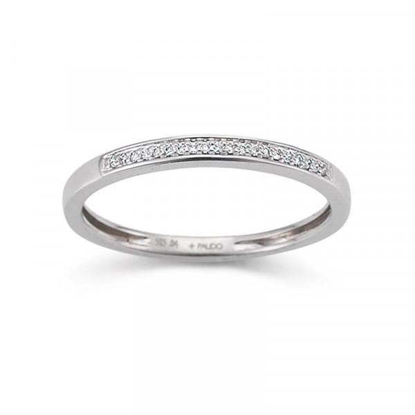 Palido Verlobunsring Damen-Ring 585 Weißgold Diamant