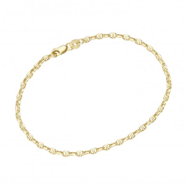 Da-lino Damen Armband in 585 Gelbgold