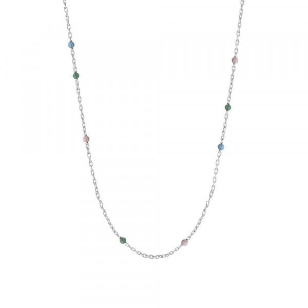 Rhd. Silber Halskette SWEETS 60+10cm