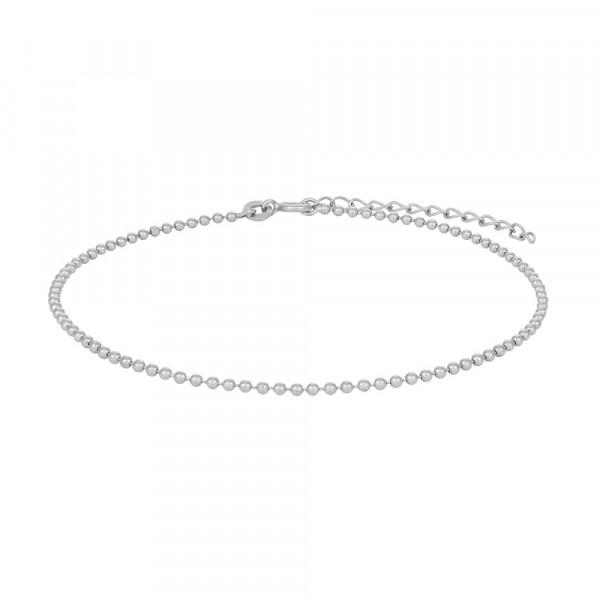Rhodiniertes Silber Armband SUMMER 17+3cm