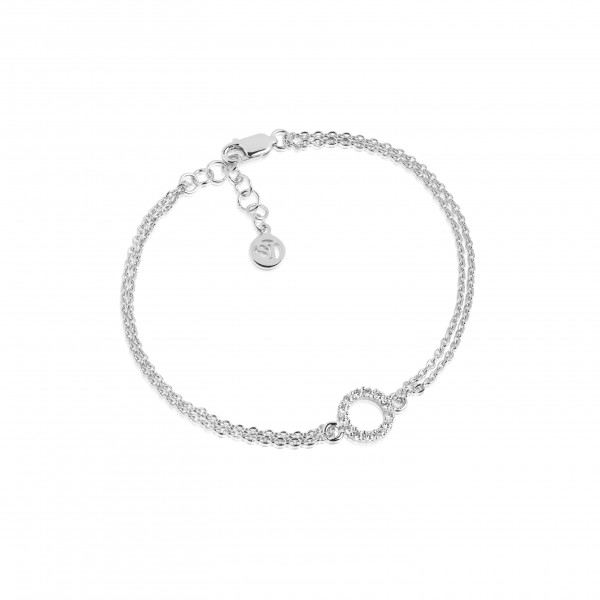 Sif Jakobs Armband Biella Piccolo 925er Silber mit weissen Zirkonia-Copy