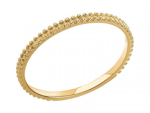 Damen-Ring, DALINO 375 Gold Vorsteckring