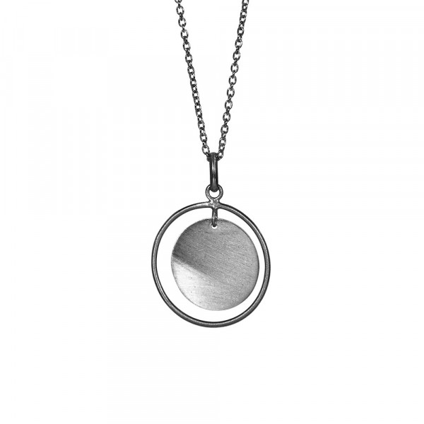 Ox. Silber Halskette TASSEL 20mm