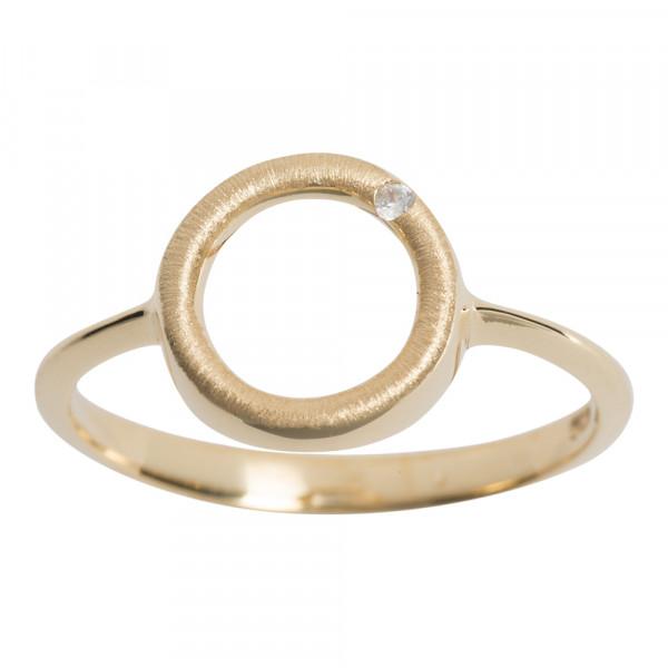 Nordahl Jewellery Damenring Circle Ring mit Zirkonia