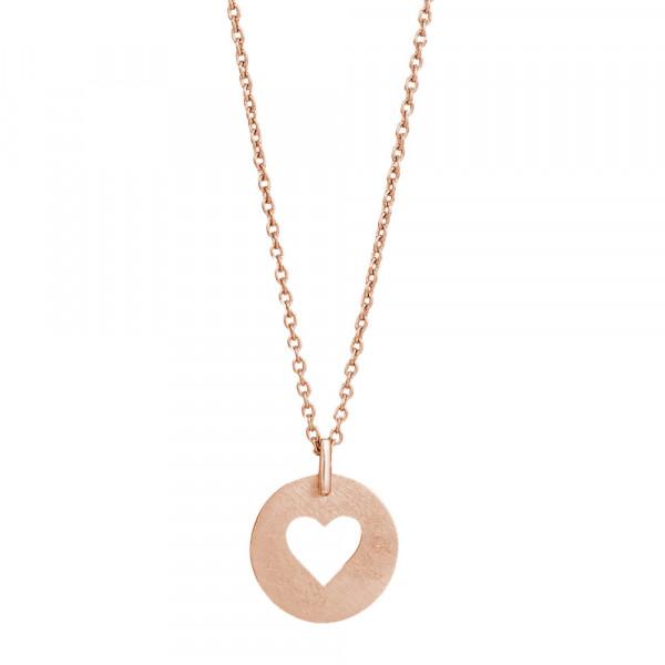 Nordahl Jewellery Damenhalskette Herz VALENTINE 15mm