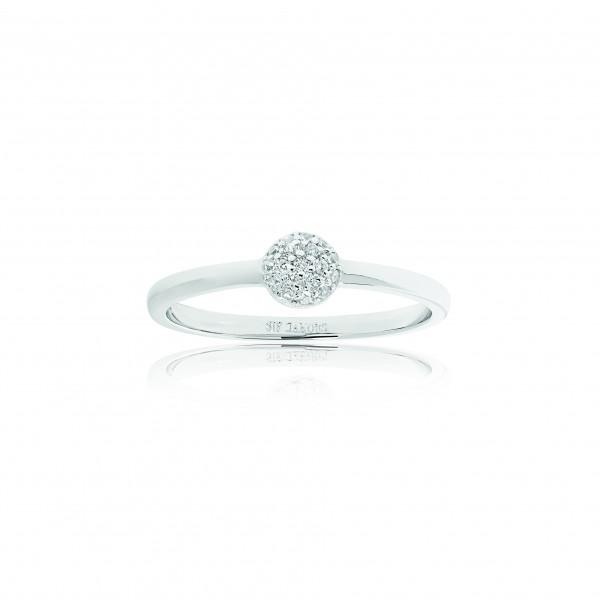 Sif Jakobs Damening Ring Grezzana mit weißen Zirkonia SJ-R1050