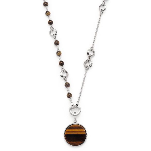 LEONARDO Clip & Mix Damen-Halskette Halskette Dolores 90cm