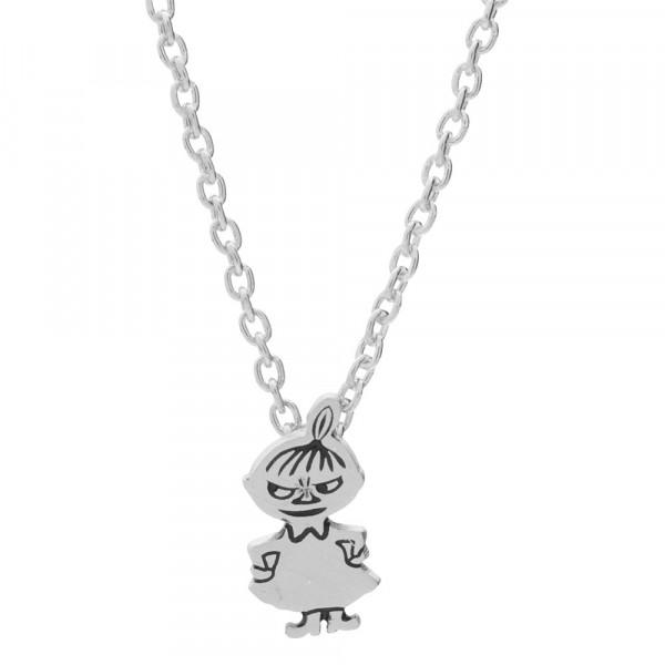 Kinder-Halskette Rhod. Silber Kleine My Emailly 12mm