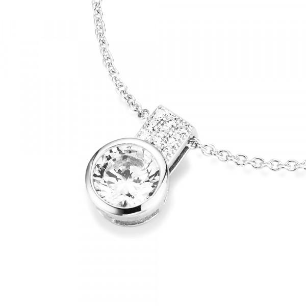 Damenhalskette Halskette 925 Silber mir Swarovski by Da-lino 99005993450