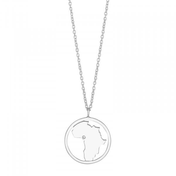 Nordahl Jewellery Damenhalskette Halskette Africa 20mm