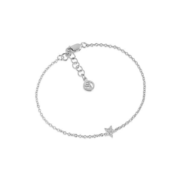 Damenarmband Armband Mira mit weißen Zirkonia SJ-B2947