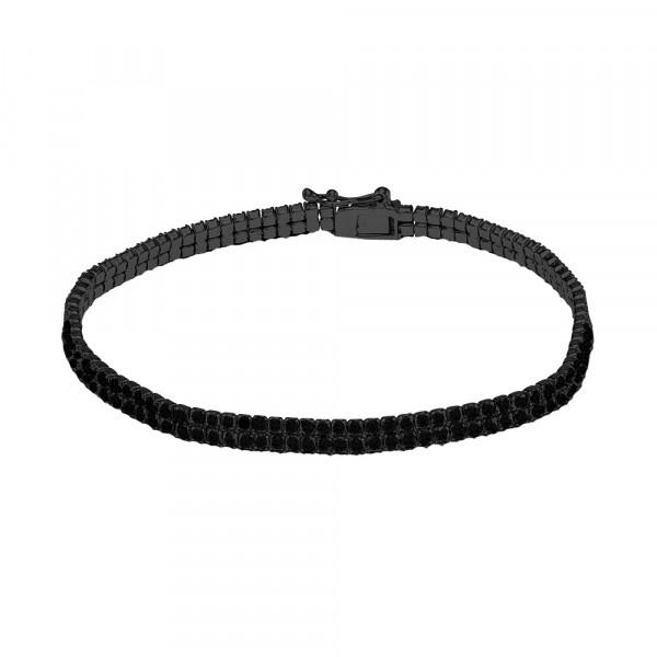 Damen-Armband Rhd. Silber ADINANOR 17+3cm