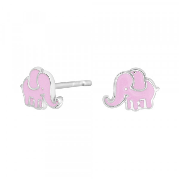NOA KIDS JEWELLERY Kinder-Ohrstecker silber rhod. Elefant