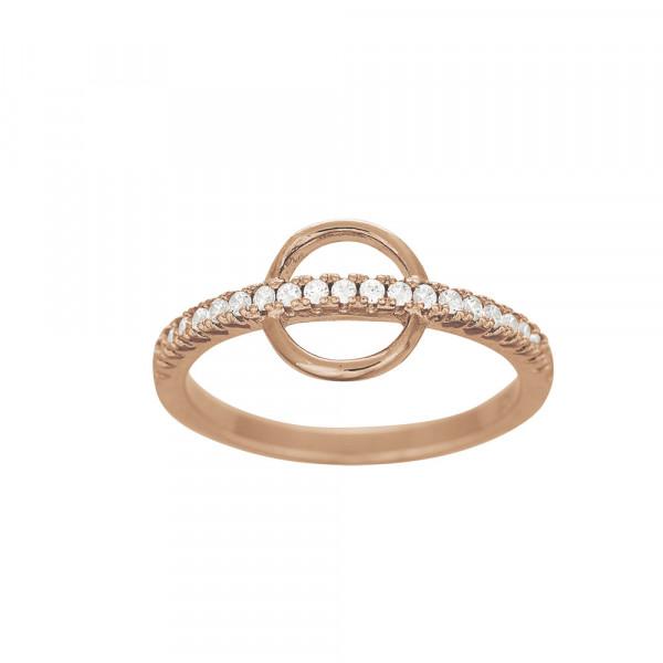 Damenring mit Zirkonia Ring DEEDEE 8mm