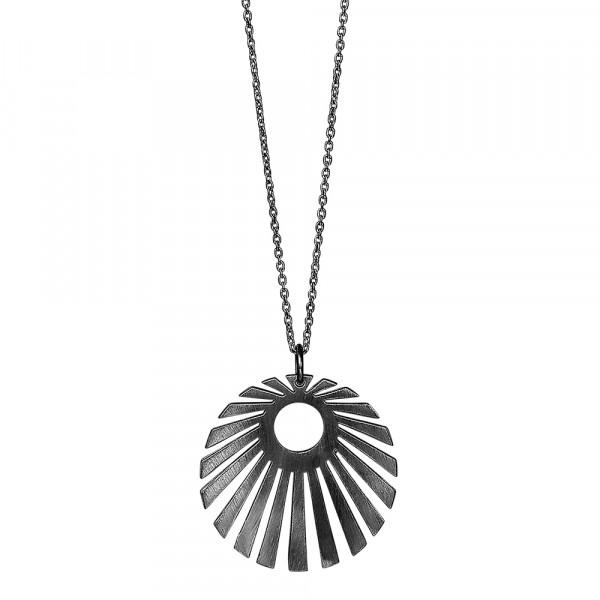 Ox. Silber Halskette SUN52 30mm