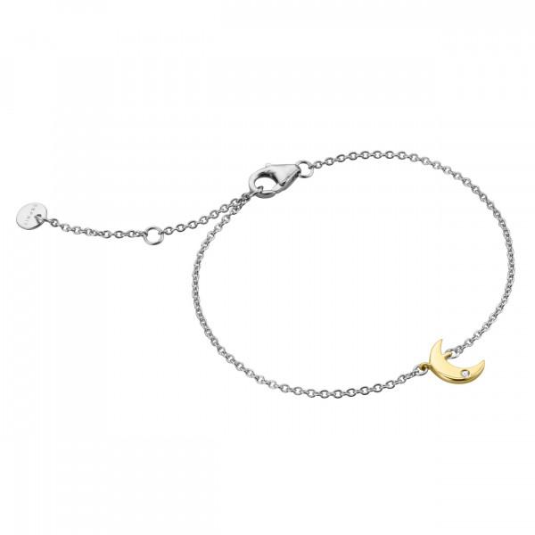 Esprit Armband mit Halbmond Anhänger