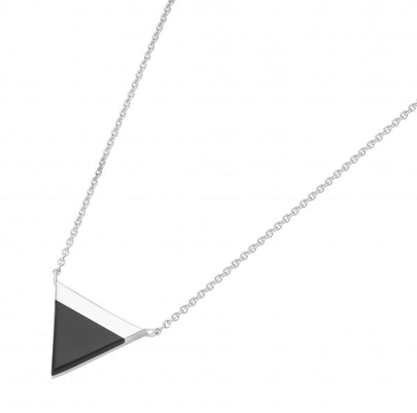 Damenhalskette Collier mit Achat 925 Silber 99043293450
