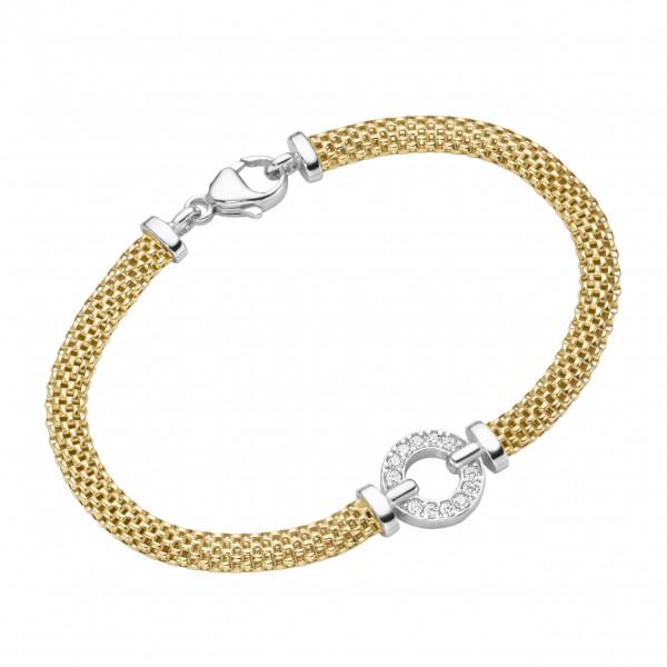 Da-lino Armband in 925 Silber vergoldet