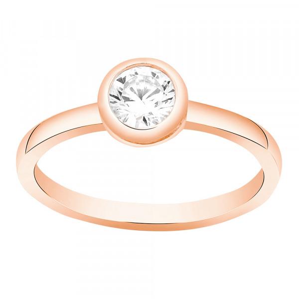 Joanli Nor Damenring Ring AMY Swarovski Bezel 7,5mm