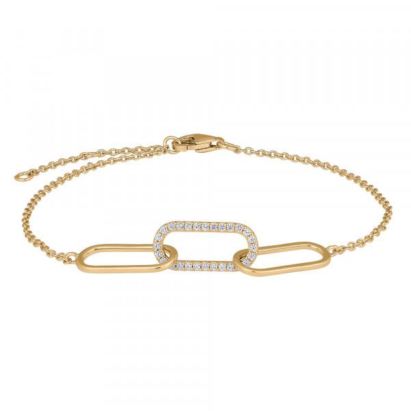 Joanli Nor Damenarmband Armband FIENOR 17+3 cm