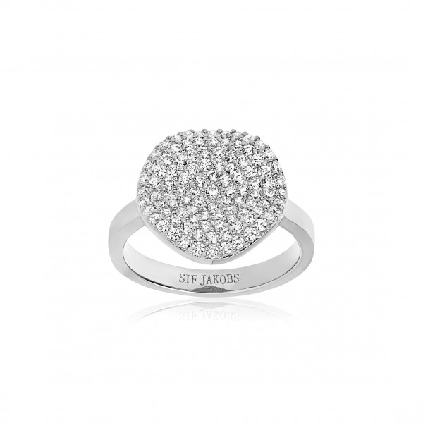Sif Jakobs Damenring Ring Monterosso mit weißen Zirkonia SJ-R2059