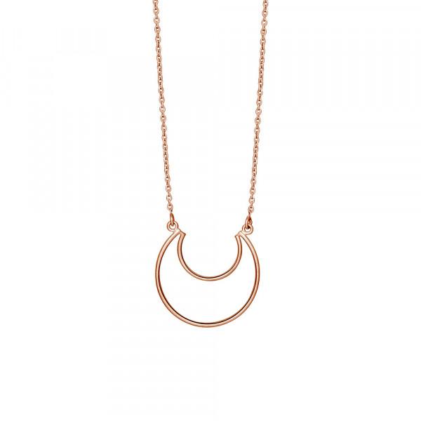 Nordahl Jewellery Damenhalskette Halskette Mond MOON 24mm - 70cm