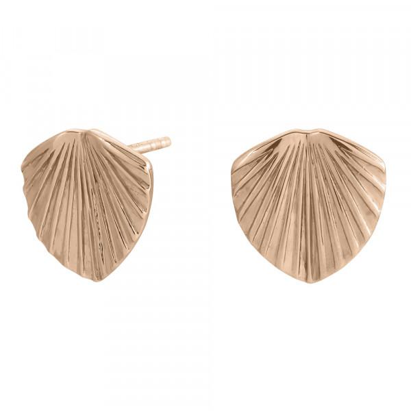 Rosévergoldete Silber Ohrringe LICUALA 12mm