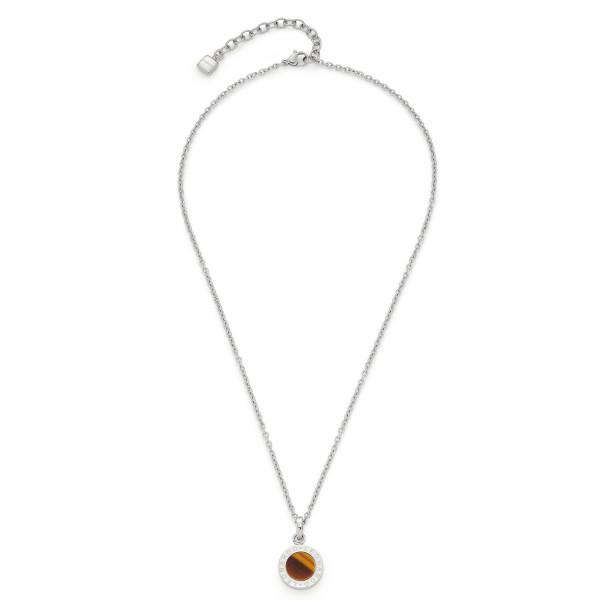 Halskette Matrix Tigerauge 018400