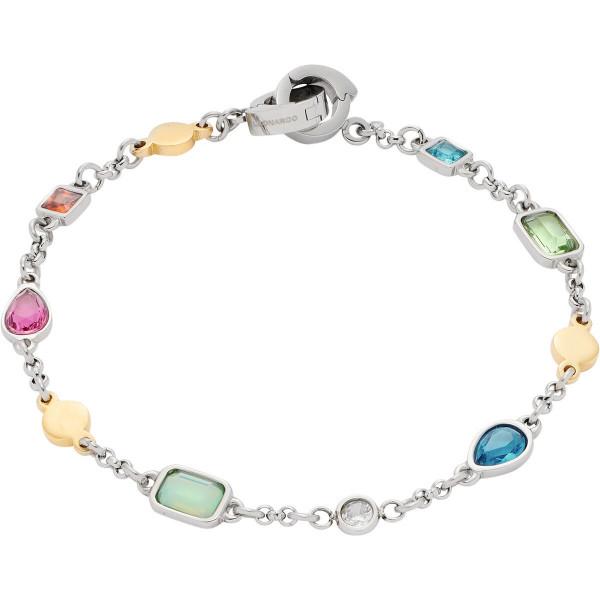 LEONARDO Armband mit Leuchtenden Glaskristalle Rimini Clip & Mix