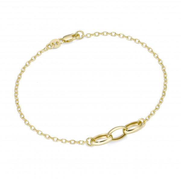 Da-lino Armband in 375 Gelbgold