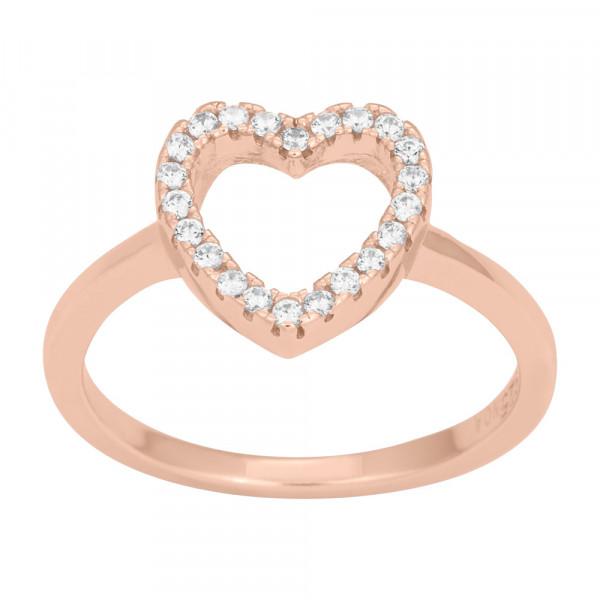 Joanli Nor Damenring Ring AIDA Herz