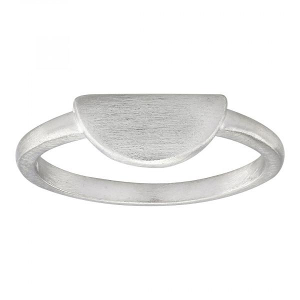 Damenring Ring Halbkreis 10mm