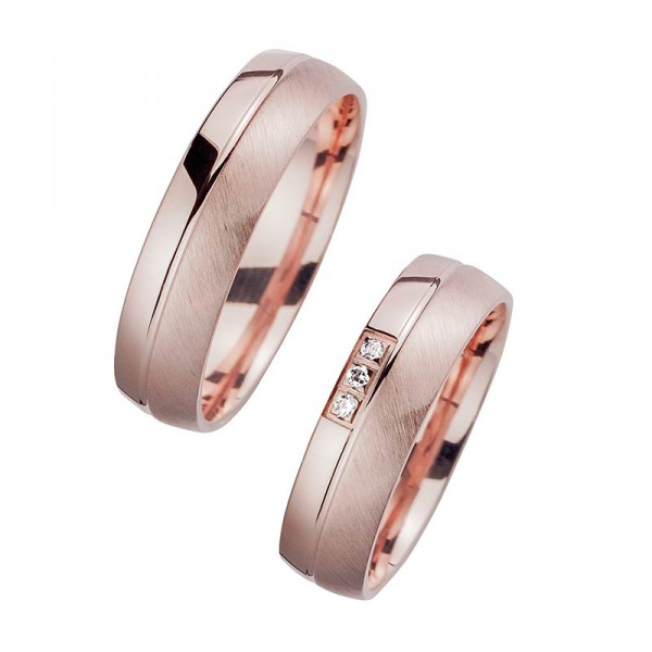 Trauringe Rotgold Cilor Perfect Love Kollektion HR 48A