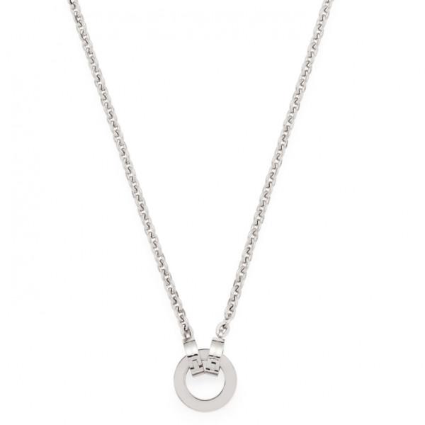 LEONARDO CLIP & MIX Damen-Halskette Edelstahl Charm-Kette 43cm Piccola