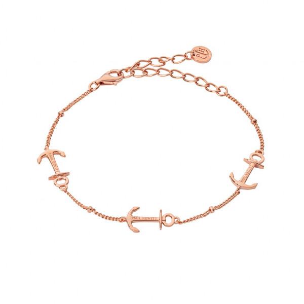 PAUL HEWITT Damen Armband Anchor Rope Rosegold