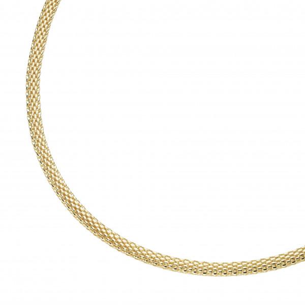 Damenhalskette Collier 925 silber vergoldet by Da-lino 99050991450